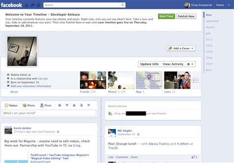 format video on facebook facebook testing new timeline format pc tech magazine