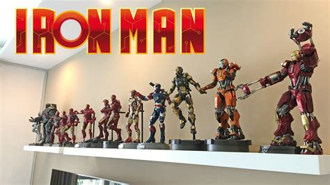 hot toys iron man collection ii iii avengers ii