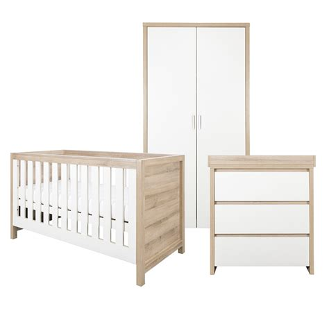 Oak Nursery Furniture Set Baby Bedroom Sets Nursery Room Sets On Sale Tutti Bambini