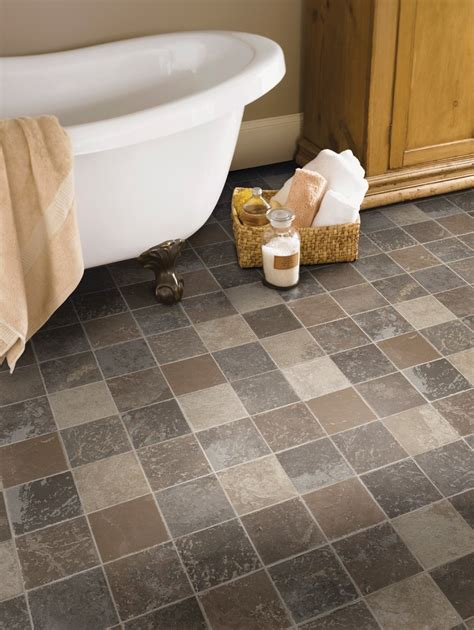 tumbled stone tile Bathroom Traditional with bathroom bathroom flooring bathroom