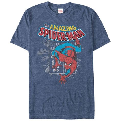 Tshirt Spidey One Tshirt spidey st blue mens t shirt superheroden