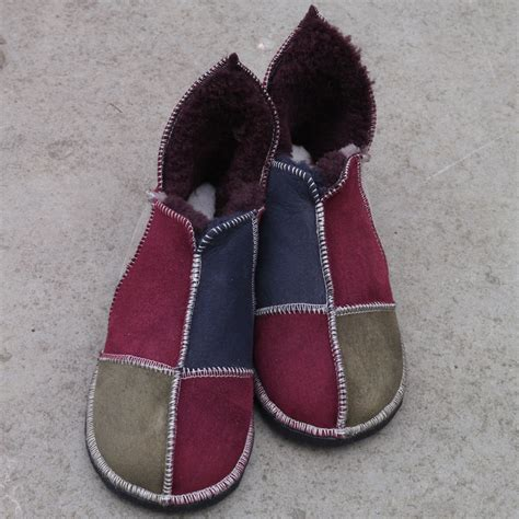 Handmade Sheepskin Boots - sheepskin slipper boots uk