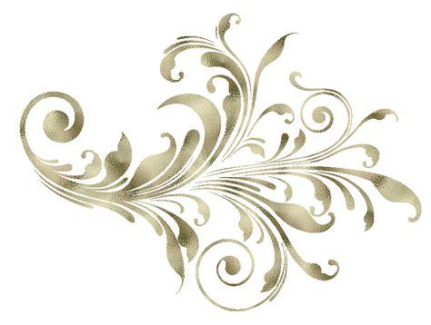 imagenes vintaje png ornamentos decorativos dorados png clipart florales
