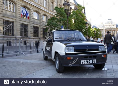 french renault vintage french renault 5 police car historic vehicle