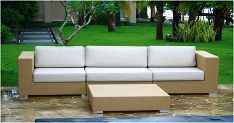 how to care for wicker outdoor furniture