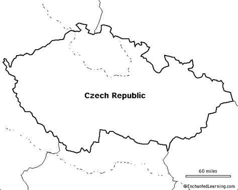 Republic Map Outline by Outline Map Republic Enchantedlearning
