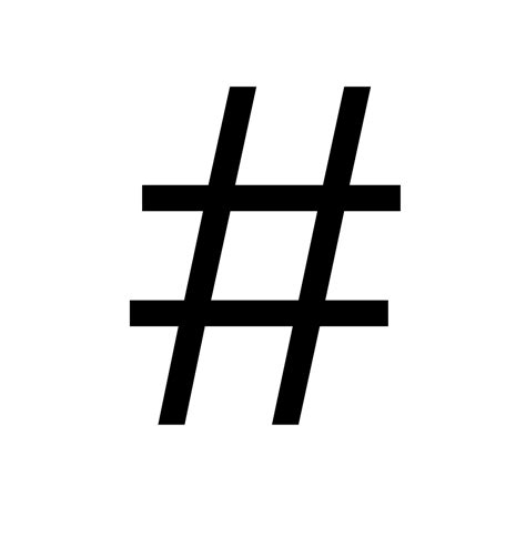 what does hashtag mean file number sign svg wikimedia commons