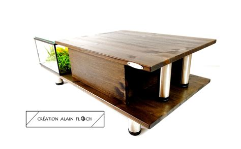 Table Aquarium Design by Table Basse Aquarium Design 14 Autospanh
