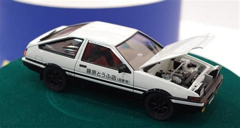 Aoshima Toyota Ae86 Sprinter Trueno Project D With Engine 1 24 aoshima toyota sprinter trueno ae86 initial d project d