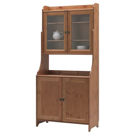 Ikea Top Cabinet by Leksvik Buffet With Top Cabinet Ikea Home Dec