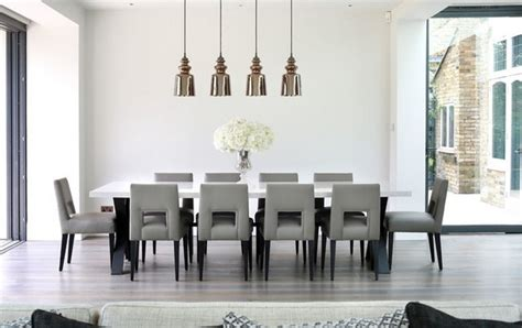 contemporary ceiling lights for a dining living room