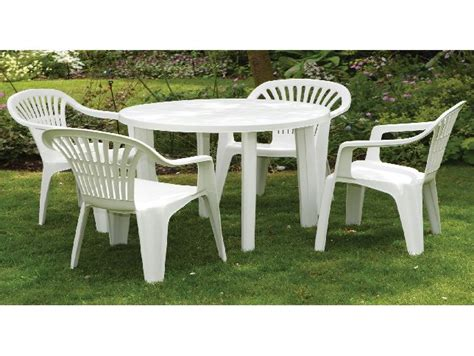 white resin patio furniture home outdoor