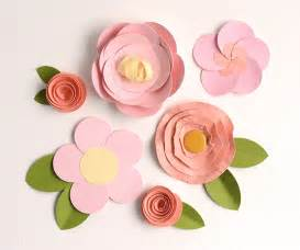 How To Make Easy Paper Flower - make easy paper flowers 5 fast tutorials on craftsy