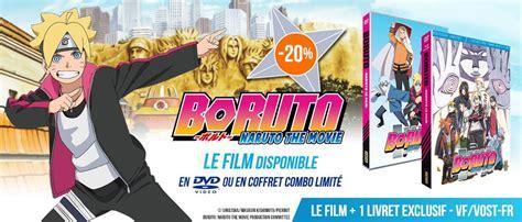film boruto gratuit anime store fr dvd blu ray le meilleur de l animation