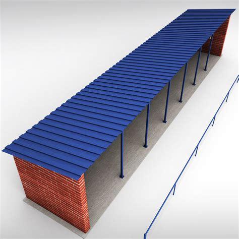 stadium bench baseball stadium dugout bench 3d model max obj 3ds fbx mtl