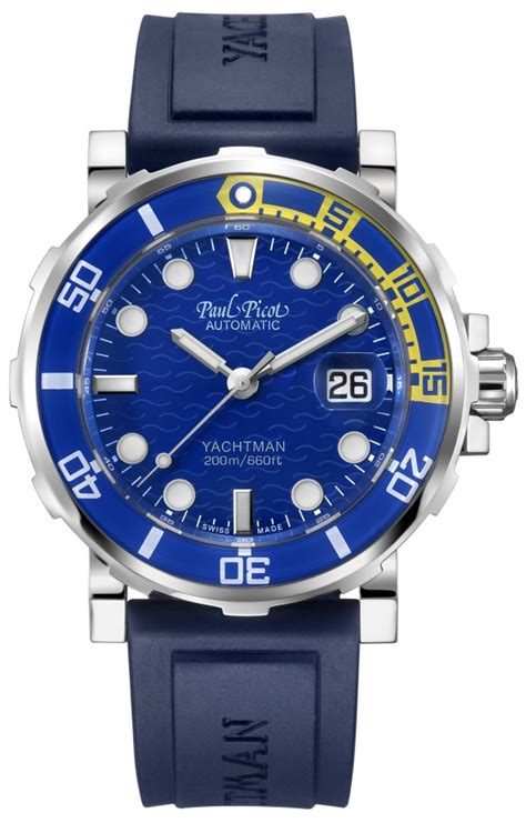 paul picot c type yachtman 3 watches luxury watches