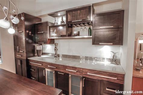 comptoir de cuisine quartz ou granit id 233 e granit granit quartz marbre qu 233 bec comptoirs