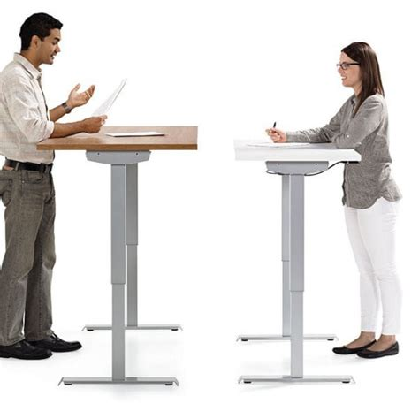 sit stand desk options custom sit stand desk options office furniture ez