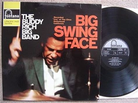 buddy rich big band big swing face popsike com the buddy rich big band lp big swing face
