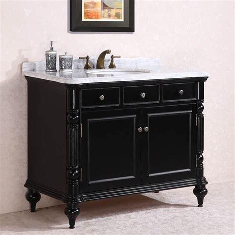 48 In Bathroom Vanity With Top Carrara White Marble Top Single Sink Bathroom Vanity In