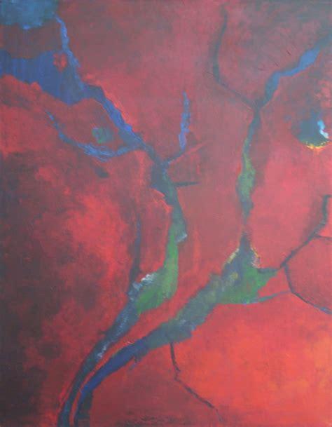 blaue und rote küche rote und blaue bilder ingrid kulf