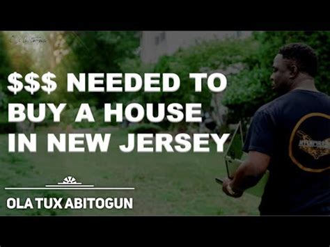 how much money do i need to buy a house in nj new jersey