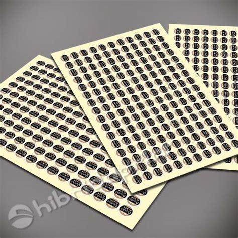 Kertas Stiker Vinyl A4 cetak stiker label bulat 1 5 cm lembaran a4 percetakan