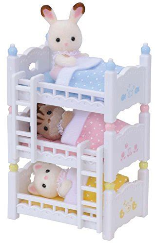 calico critters beds calico critters baby friends triplets with triple baby bunk beds 2015