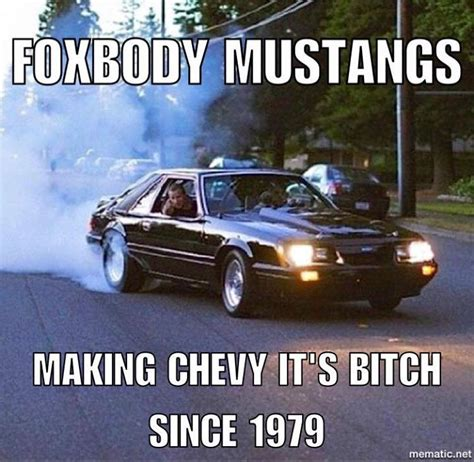 Fox Body Meme - best 25 fox body mustang ideas on pinterest ford fox