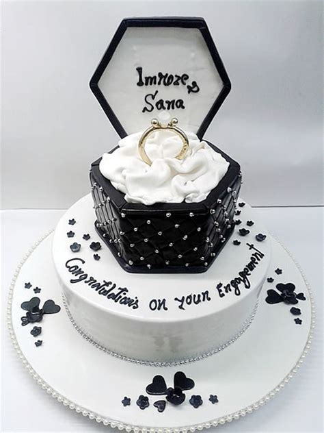Engagement Cakes by Best Engagement Cake Shop In Mumbai Deliciae Cakes