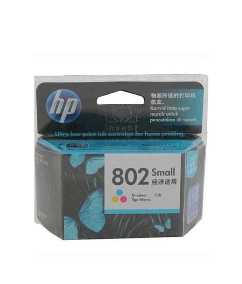 Catridge Hp802 Black hp 802 small inkjet cartridge tricolor buy hp 802