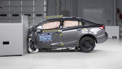 car crash test insurance institute for highway safety news photos and