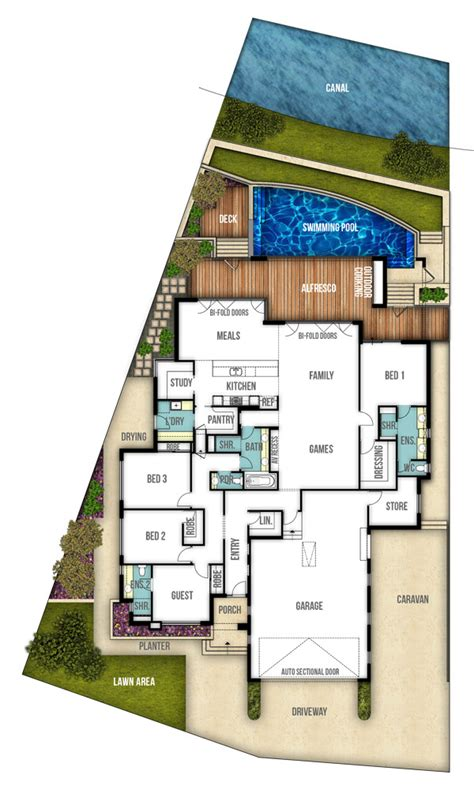 create house floor plans free single storey house plan quot the riverbank quot by boyd design