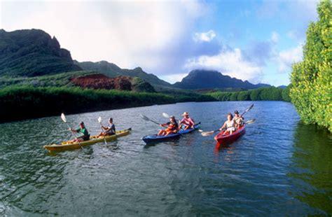 glass bottom boat kauai outfitters kauai hidden valley falls kayak kauai