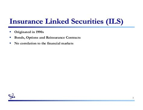 investment company act section 3 c introduction aux insurance linked securities diego wauters