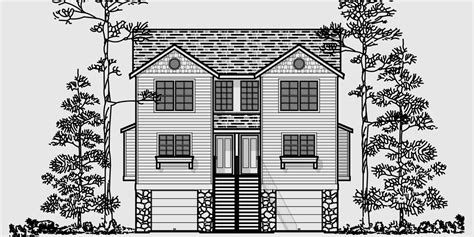 duplex house plans with garage in the middle duplex plans with garage in middle joy studio design