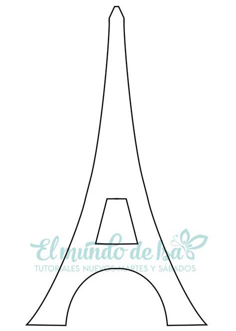 plantillas torre eiffel manualidades dia de la madre jaula vintage y torre