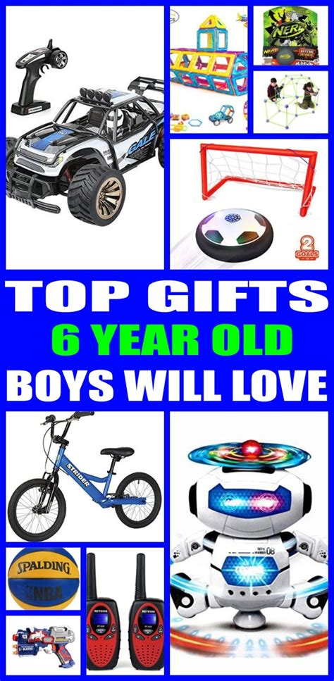 christmas ideas6 year olds top 6 year boys gift ideas