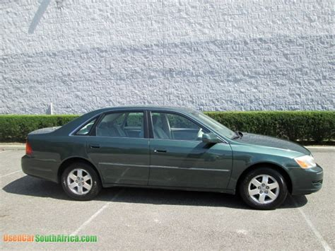 2002 Toyota Avalon Reliability 2002 Toyota Avalon Used Car For Sale In Brits West