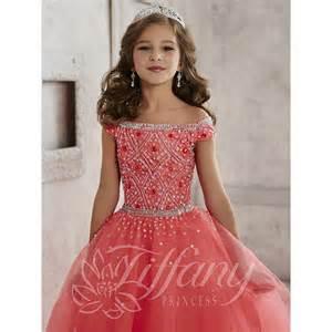 tiffany princess 13458 pageant dress madamebridal com