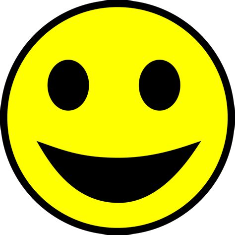 File:Classic smiley.svg - Wikimedia Commons Emoticons Smile