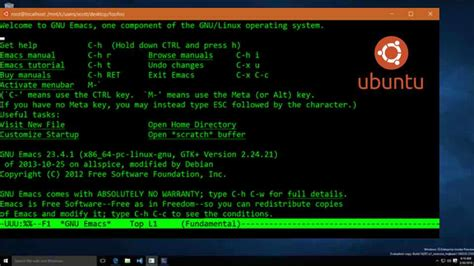 ubuntu windows ubuntu linux on windows 10 here are the first pictures
