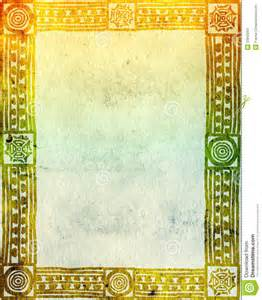 Horizontal Wall Decor American Indian Traditional Patterns Stock Image Image