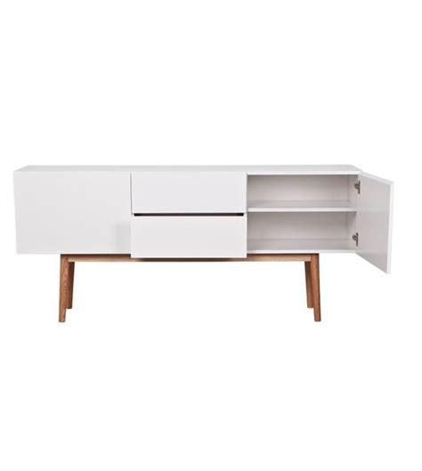 lade design italiano zuiver tv meubel kast high on wood wit met lades en 2