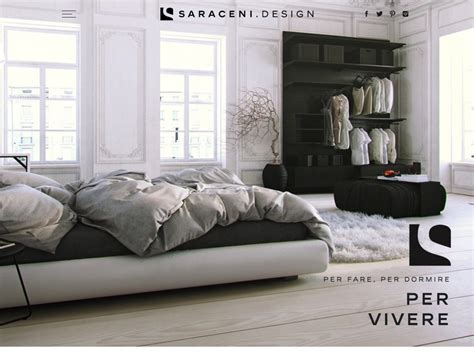sito design arredamento creazione sito web showroom negozio arredamento saraceni