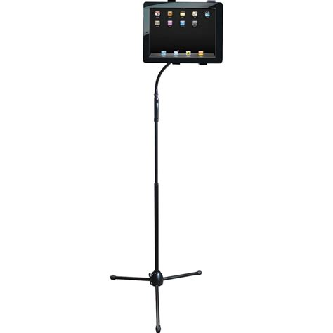 Gooseneck Floor Stand by Hamiltonbuhl Adjustable Gooseneck Tablet Floor Stand Isd