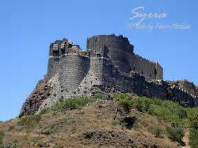 Mediterranean Style Homes Markab Castle One Of The Crusaders Castles In Syria