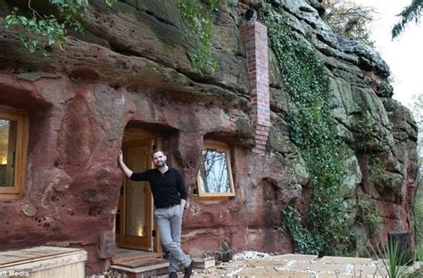 700 year old cave man renovates 700 year old worcestershire cave into dream home