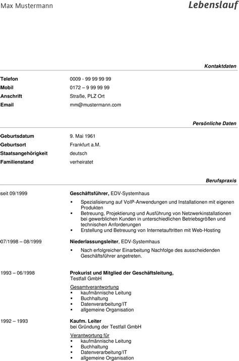 Lebenslauf Vorlage Max Mustermann Bewerbung Max Mustermann Foto Anlagen Lebenslauf