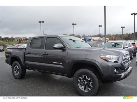 magnetic gray 2016 magnetic gray metallic toyota tacoma trd road